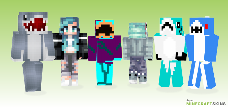 Shark Minecraft Skins - Best Free Minecraft skins for Girls and Boys