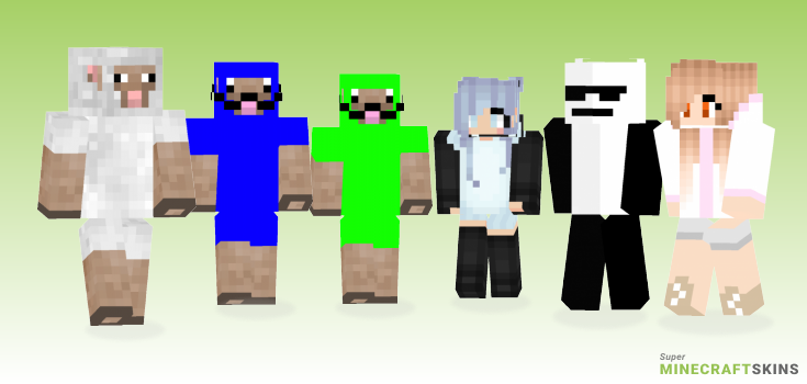 Sheep Minecraft Skins - Best Free Minecraft skins for Girls and Boys