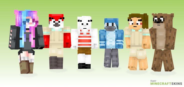 Show Minecraft Skins - Best Free Minecraft skins for Girls and Boys