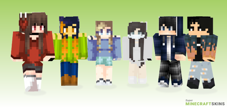 Sick Minecraft Skins - Best Free Minecraft skins for Girls and Boys