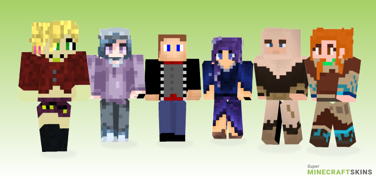Silent Minecraft Skins - Best Free Minecraft skins for Girls and Boys