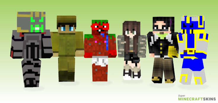 Sir Minecraft Skins - Best Free Minecraft skins for Girls and Boys