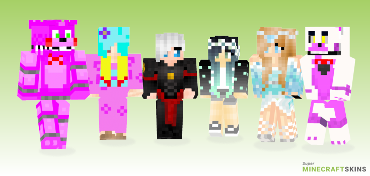 Sister Minecraft Skins - Best Free Minecraft skins for Girls and Boys