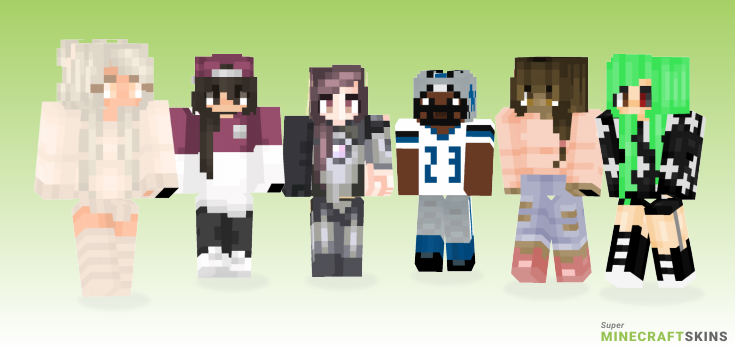 Slay Minecraft Skins - Best Free Minecraft skins for Girls and Boys