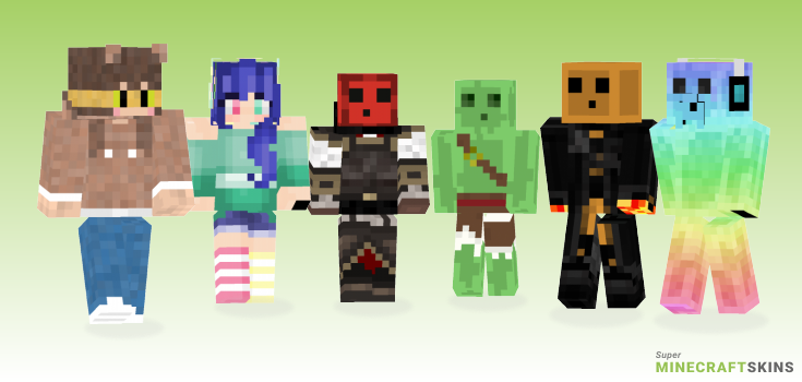 Slime Minecraft Skins - Best Free Minecraft skins for Girls and Boys