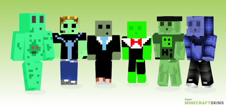 Slimey Minecraft Skins - Best Free Minecraft skins for Girls and Boys
