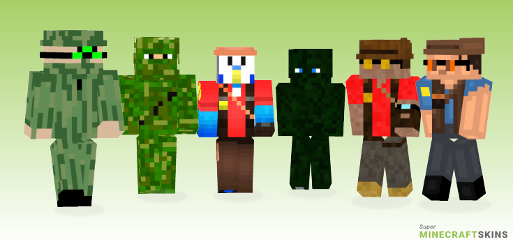 Sniper Minecraft Skins - Best Free Minecraft skins for Girls and Boys
