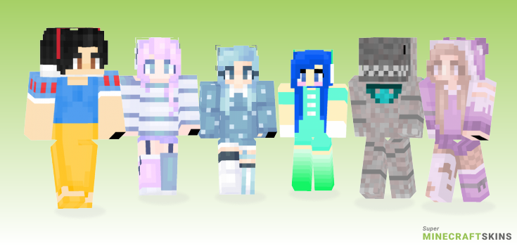 Snow Minecraft Skins - Best Free Minecraft skins for Girls and Boys