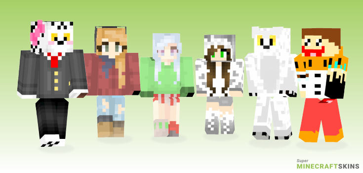 Snowy Minecraft Skins - Best Free Minecraft skins for Girls and Boys