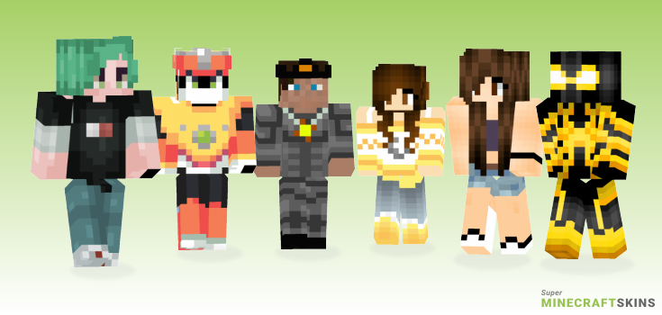 Solar Minecraft Skins - Best Free Minecraft skins for Girls and Boys