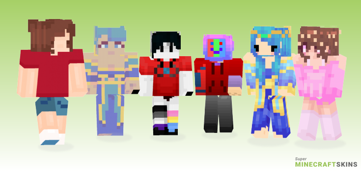 Sona Minecraft Skins - Best Free Minecraft skins for Girls and Boys