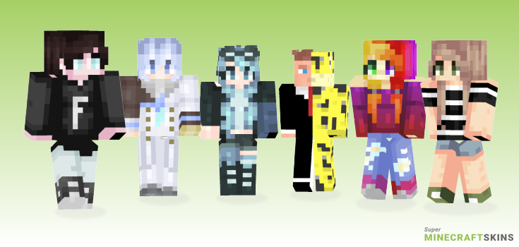 Song Minecraft Skins - Best Free Minecraft skins for Girls and Boys