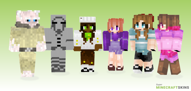 Soul Minecraft Skins - Best Free Minecraft skins for Girls and Boys
