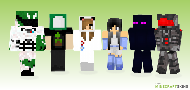 Space Minecraft Skins - Best Free Minecraft skins for Girls and Boys