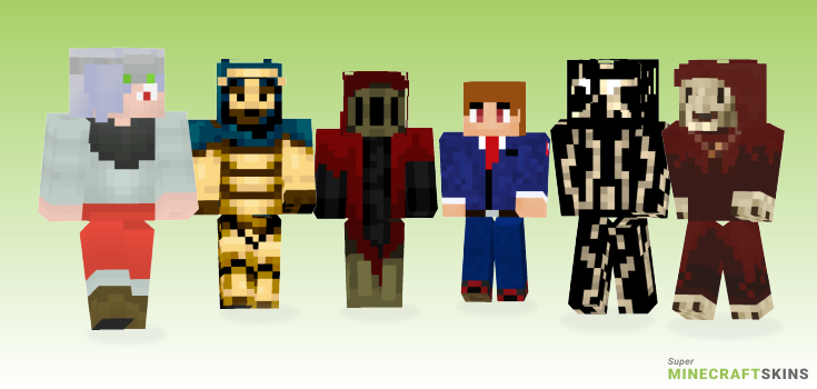 Specter Minecraft Skins - Best Free Minecraft skins for Girls and Boys