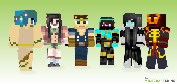 Spirit Minecraft Skins - Best Free Minecraft skins for Girls and Boys
