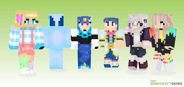 Splash Minecraft Skins - Best Free Minecraft skins for Girls and Boys