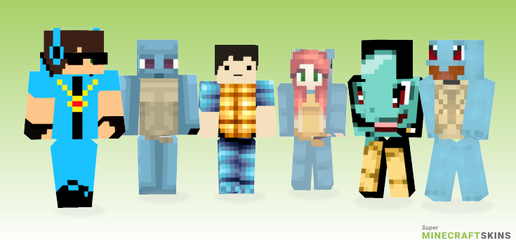 Squirtle Minecraft Skins - Best Free Minecraft skins for Girls and Boys