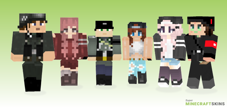 Ss Minecraft Skins - Best Free Minecraft skins for Girls and Boys