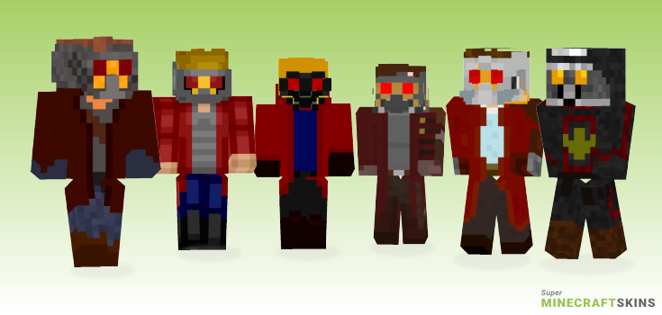 Starlord Minecraft Skins - Best Free Minecraft skins for Girls and Boys
