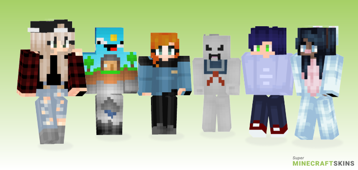 Stay Minecraft Skins - Best Free Minecraft skins for Girls and Boys