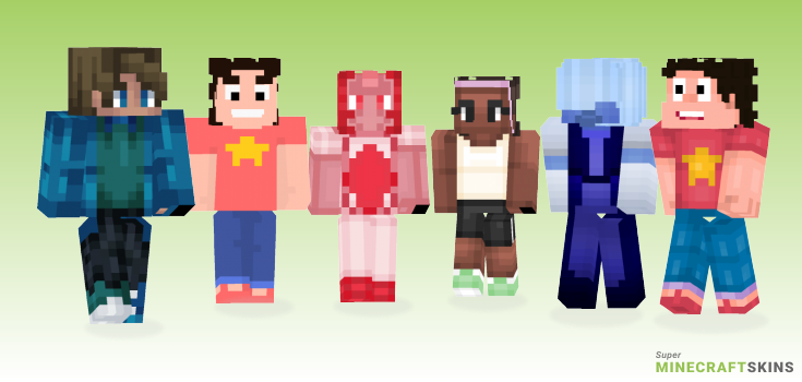 Steven Minecraft Skins - Best Free Minecraft skins for Girls and Boys