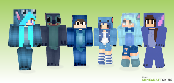 Stitch Minecraft Skins - Best Free Minecraft skins for Girls and Boys