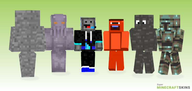Stone Minecraft Skins - Best Free Minecraft skins for Girls and Boys