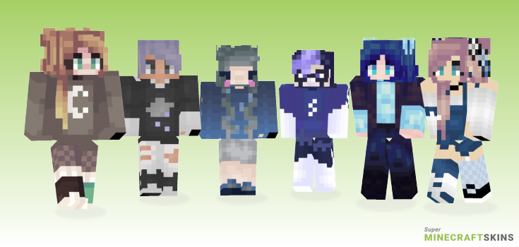 Stormy Minecraft Skins - Best Free Minecraft skins for Girls and Boys
