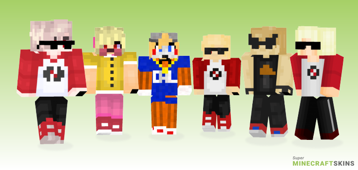 Strider Minecraft Skins - Best Free Minecraft skins for Girls and Boys