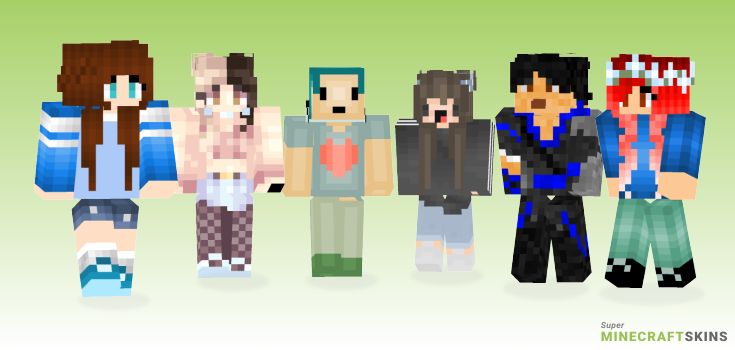 Style Minecraft Skins - Best Free Minecraft skins for Girls and Boys