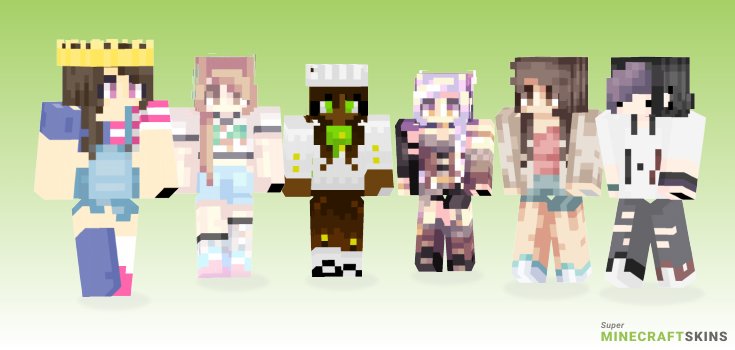 Subs Minecraft Skins - Best Free Minecraft skins for Girls and Boys