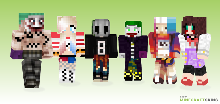 Suicide Minecraft Skins - Best Free Minecraft skins for Girls and Boys