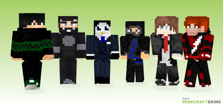 Suit Minecraft Skins - Best Free Minecraft skins for Girls and Boys