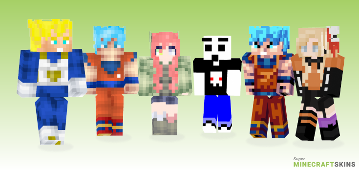Super Minecraft Skins - Best Free Minecraft skins for Girls and Boys