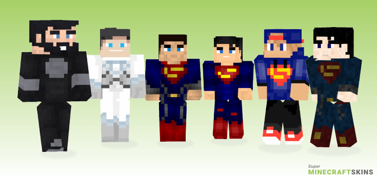 Superman Minecraft Skins - Best Free Minecraft skins for Girls and Boys