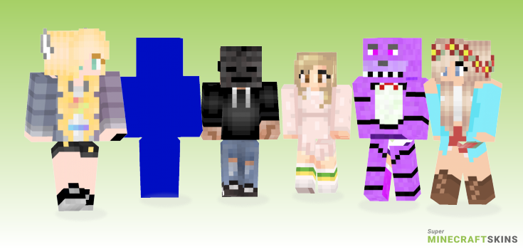 Surprise Minecraft Skins - Best Free Minecraft skins for Girls and Boys
