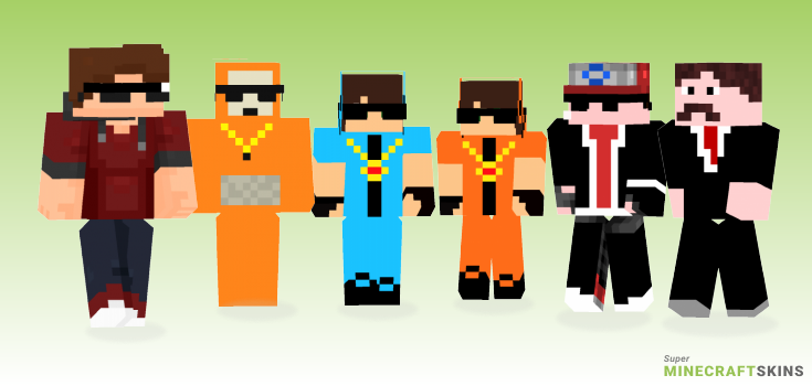Swag Minecraft Skins - Best Free Minecraft skins for Girls and Boys
