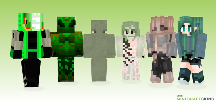 Swamp Minecraft Skins - Best Free Minecraft skins for Girls and Boys