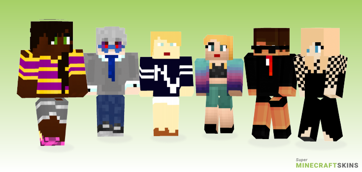 Swift Minecraft Skins - Best Free Minecraft skins for Girls and Boys