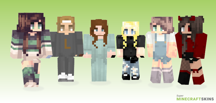 Taking Minecraft Skins - Best Free Minecraft skins for Girls and Boys