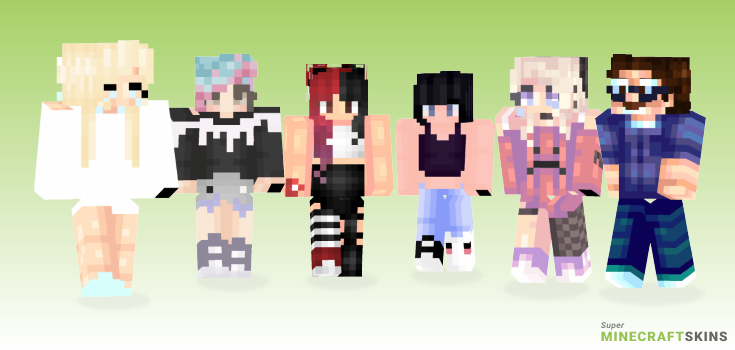 Tears Minecraft Skins - Best Free Minecraft skins for Girls and Boys