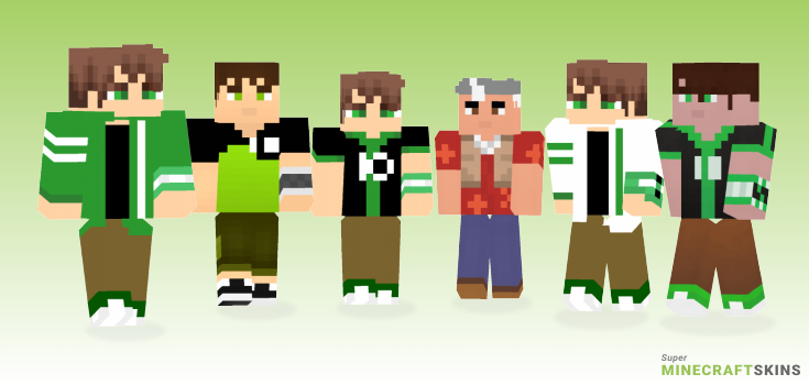Tennyson Minecraft Skins - Best Free Minecraft skins for Girls and Boys