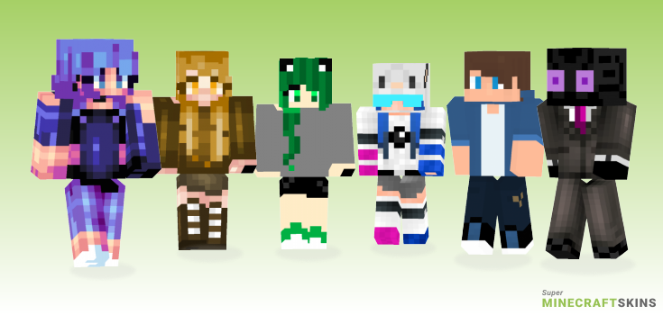 Testing Minecraft Skins - Best Free Minecraft skins for Girls and Boys