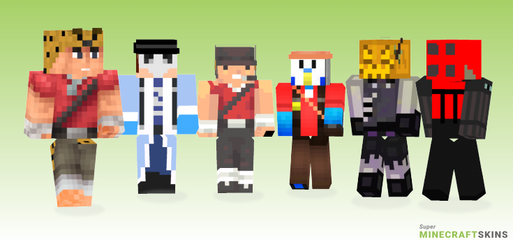 Tf2 Minecraft Skins - Best Free Minecraft skins for Girls and Boys