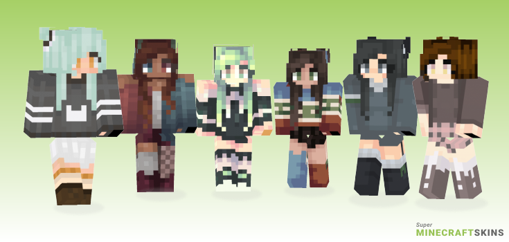 Thank Minecraft Skins - Best Free Minecraft skins for Girls and Boys