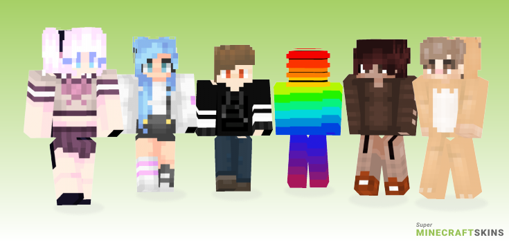 Thingy Minecraft Skins - Best Free Minecraft skins for Girls and Boys