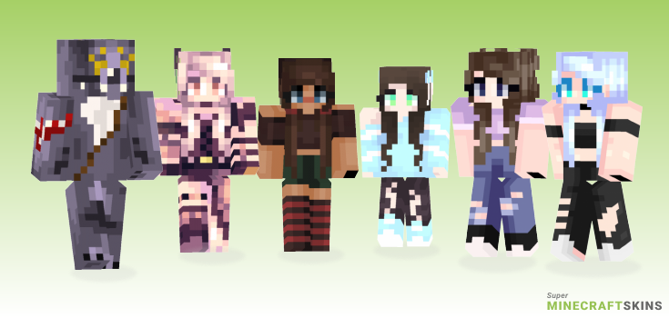 Thinking Minecraft Skins - Best Free Minecraft skins for Girls and Boys