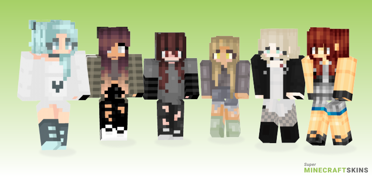 Tiffany Minecraft Skins - Best Free Minecraft skins for Girls and Boys