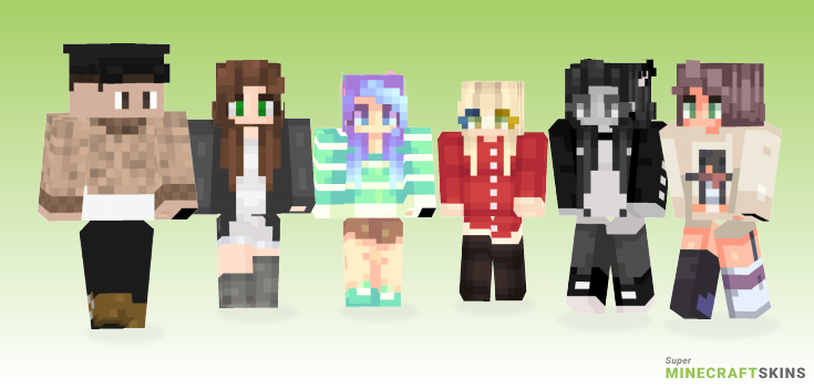 Times Minecraft Skins - Best Free Minecraft skins for Girls and Boys